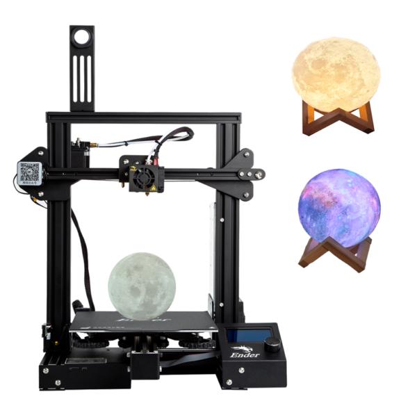 Ender 3 - Lunas impresas 3D