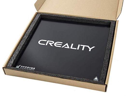 Cama impresión cristal templado Creality