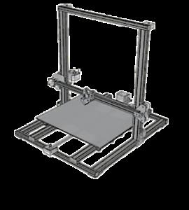 CR-10S - Dimensiones de impresión