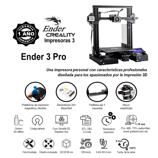 Ender 3pro - Craetivo3d original