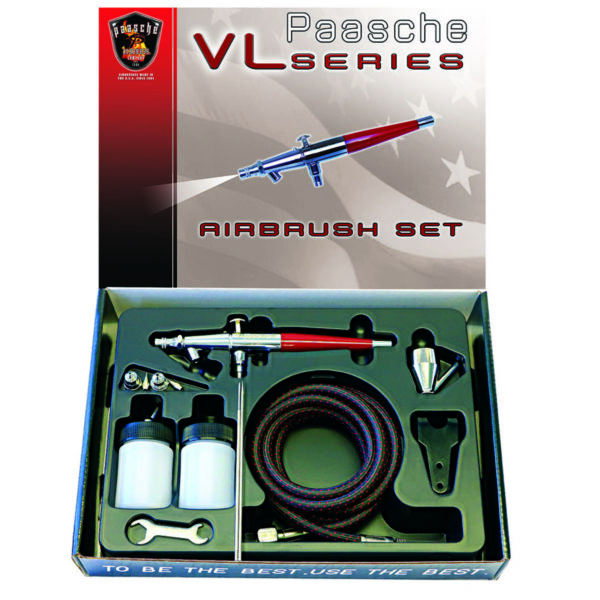 Aerógrafo para principiantes Paasche VL-3AS de Doble Acción
