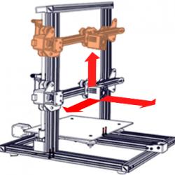 3 Ejes impresora