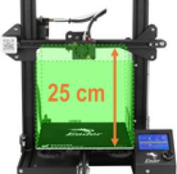 Ender 3 - Espacio de impresión